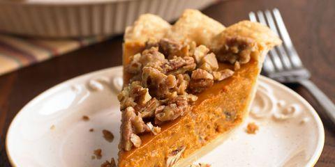 Pumpkin Pecan Pie with 300x150