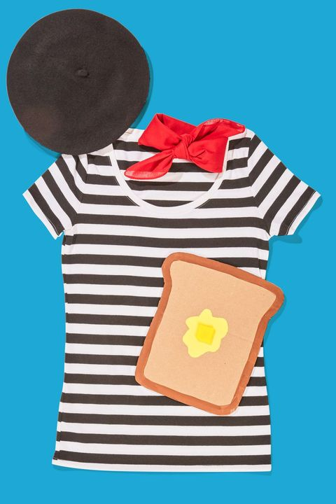 punny halloween costumes french toast
