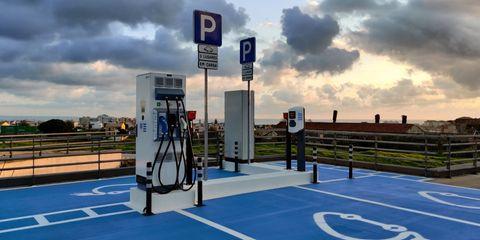 puntos carga coche electrico