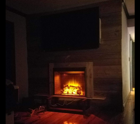 Puraflame S Electric Fireplace Is So Realistic You D Never Know