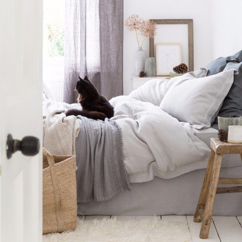 100% Pure French Linen, Soak&Sleep