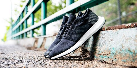 fa24755d92a8c8 image. The black version of the men s PureBoost Go. Adidas