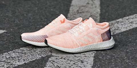 ad3ab3918bdb27 image. The pink version of the women s PureBoost Go. Adidas