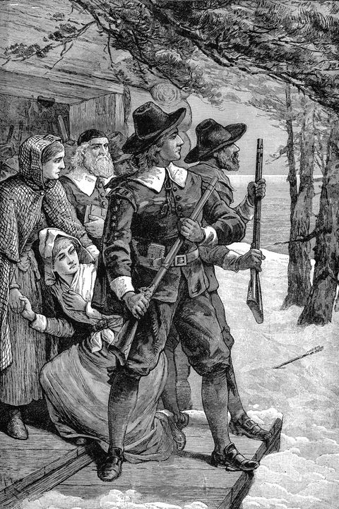 christmas facts -Puritans In The Winter