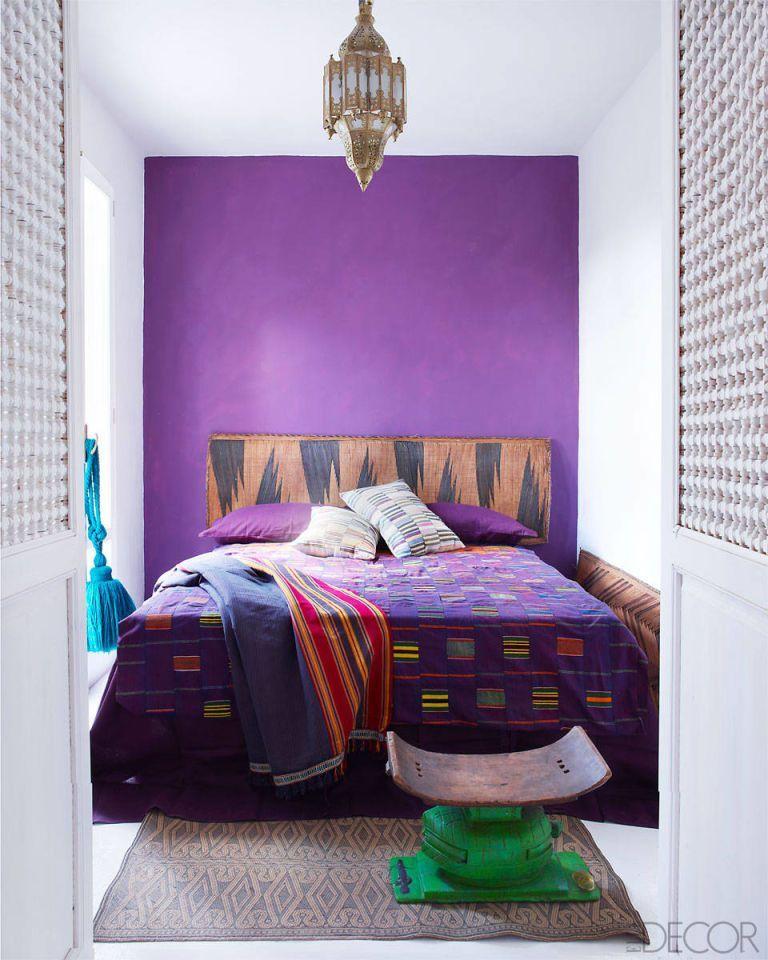 10 stylish purple bedrooms ideas for bedroom decor in purple rh elledecor com bedroom ideas purple and gold bedroom ideas dark purple