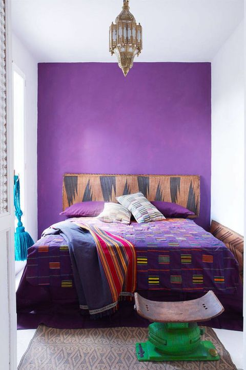 48 Stylish Purple Bedrooms Ideas For Bedroom Decor In Purple Cool Purple Bedroom