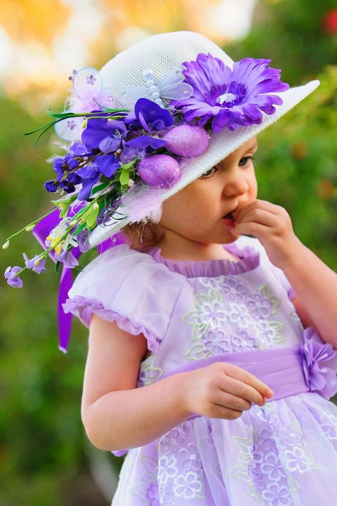 12 Cute Easter Hats And Bonnets For Toddlers Babies And