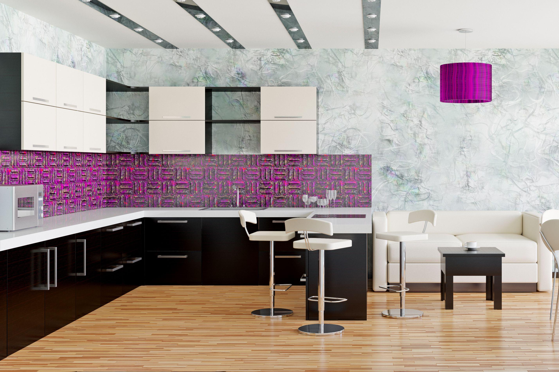 8 Chic Purple Kitchen Ideas Photos Of Kitchens With Purple Decor