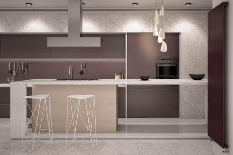 8 Chic Purple Kitchen Ideas Photos Of Kitchens With
