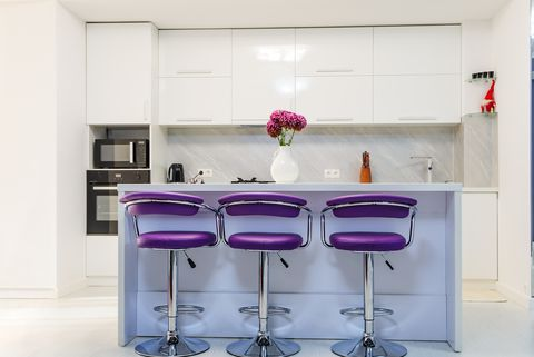 8 Chic Purple Kitchen Ideas - Photos of Kitchens With ...