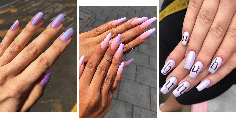 Purple Nails , 23 of Instagram\u0027s best nail art designs