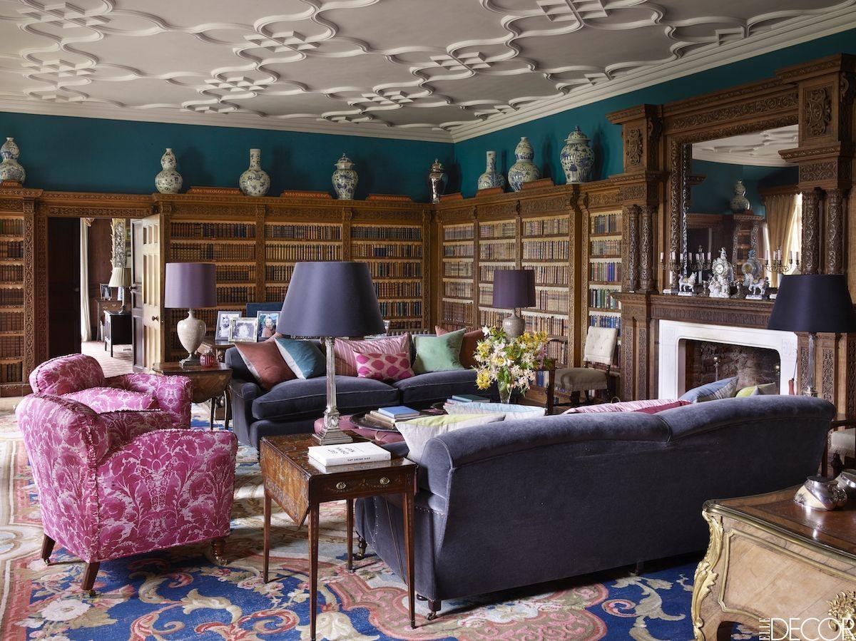 Purple Rooms Part - 40: Elle Decor