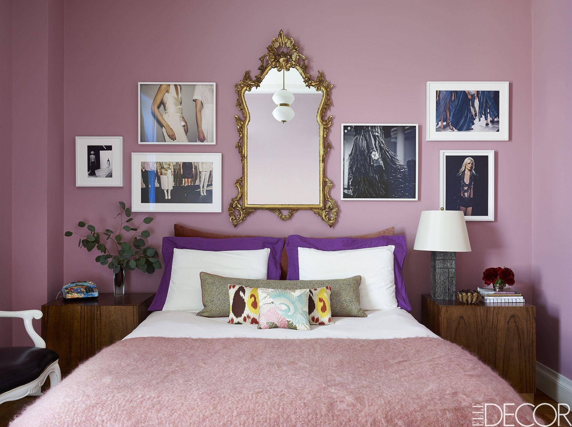 21 Best Purple Rooms Walls Ideas For Decorating With Rh Elledecor Com