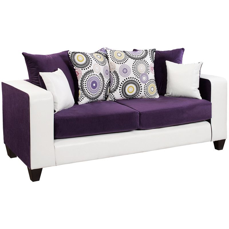 20 best purple sofas beautiful purple couches to buy rh elledecor com purple settee sofa purple leather sofa set