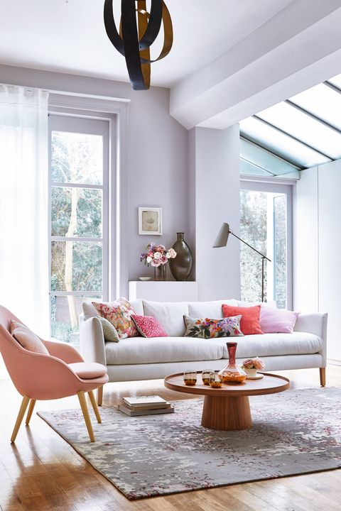 purple sunroom