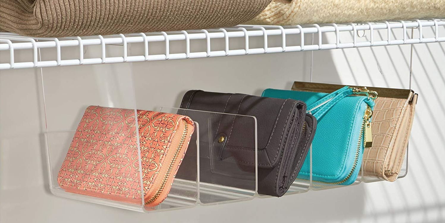 10 Clever Organizers For Storing All Your Purses And Handbags