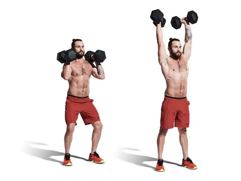 weights, exercise equipment, shoulder, overhead press, kettlebell, arm, dumbbell, physical fitness, standing, muscle,