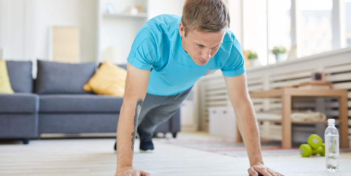 These Sweaty At-Home Cardio Workouts Require Zero Equipment
