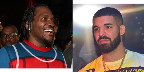 Drake And Pusha T's Brutal Rap Beef: Explained