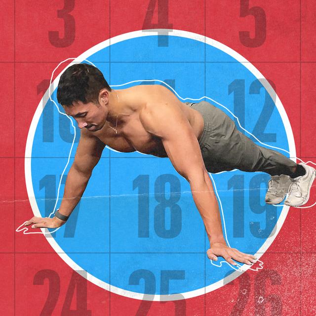 men's health pushup challenge