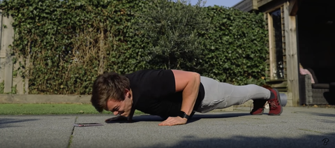 Plank, Physical fitness, Press up, Shoulder, Joint, Arm, Exercise, Leg, Hip, Knee,
