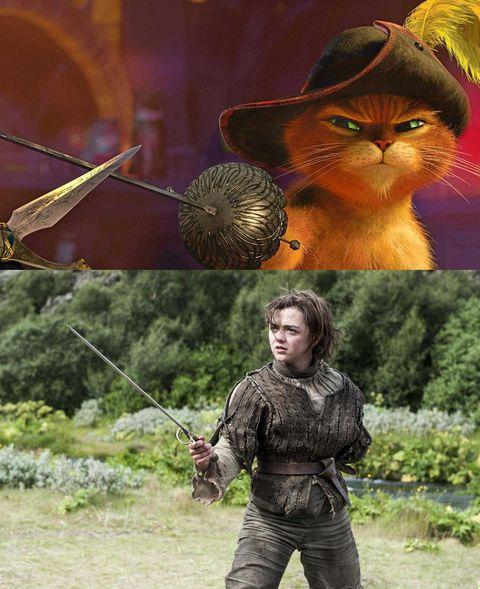 其實《史瑞克》就是《冰與火之歌》的故事?網友整理出超爆笑�對比圖:「每個角色都長一樣啊!」