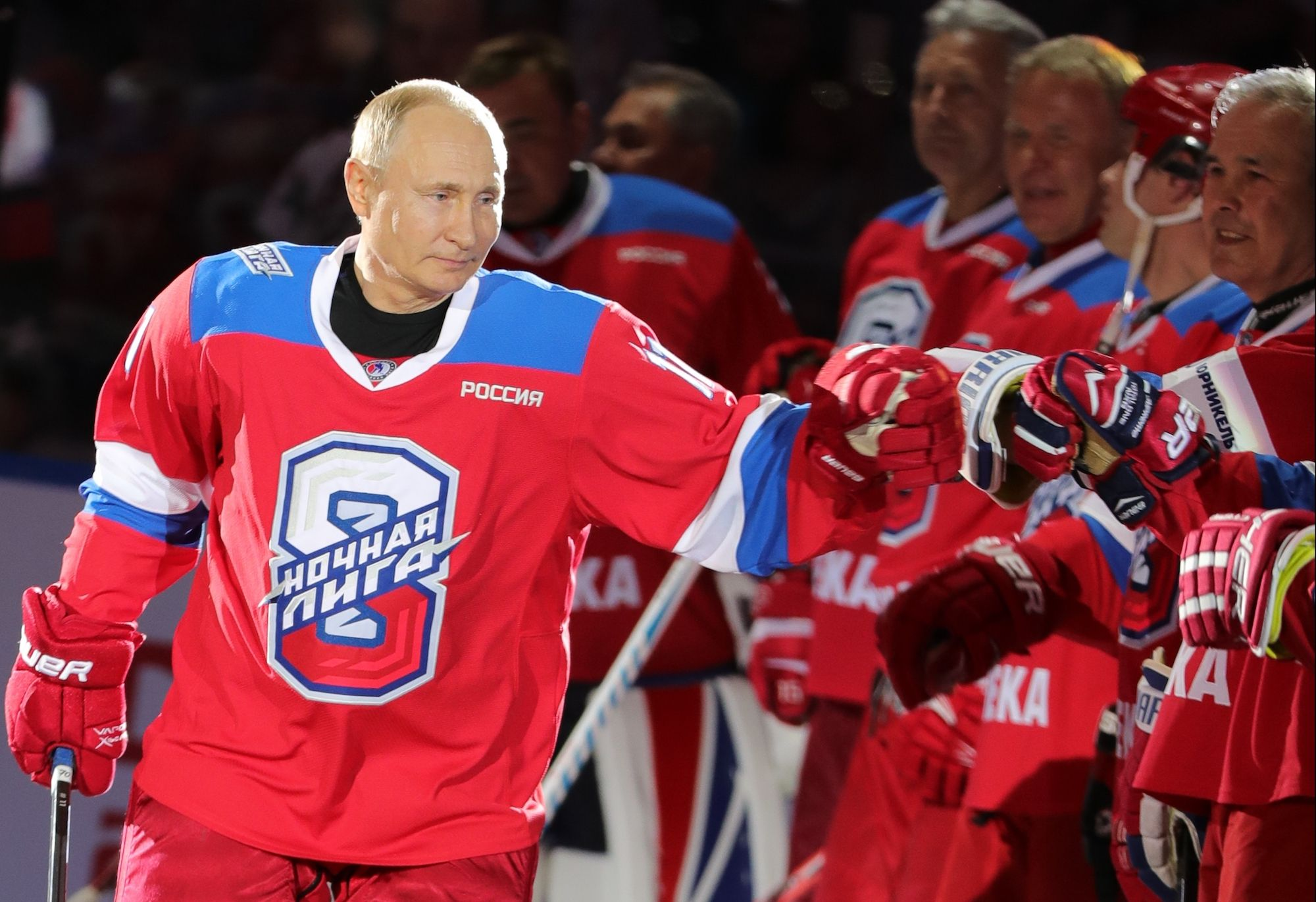 Vladimir Putin's 8-Goal Hockey Game Is a Glimpse Into Our Possible Future