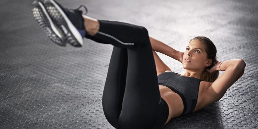 This Lower Abs Workout Will Fire Up Your Core Before Your Next Run