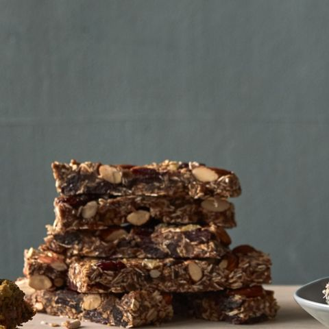 Cherry-Ginger Granola Bars