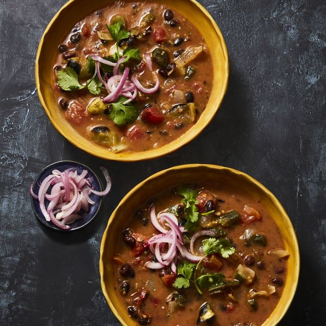 fiery black bean soup recipe