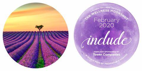 The Wellness Moonshot:February calendar