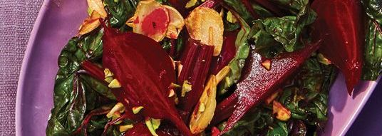 Swiss Chard and Beets Salad