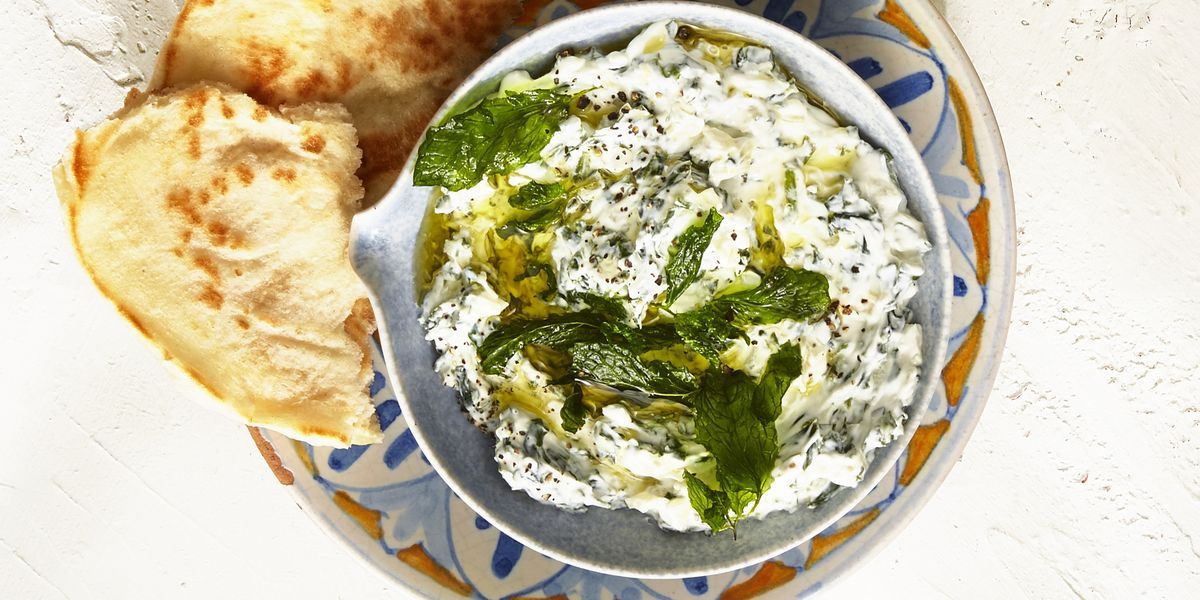 Spinach and Yogurt Dip