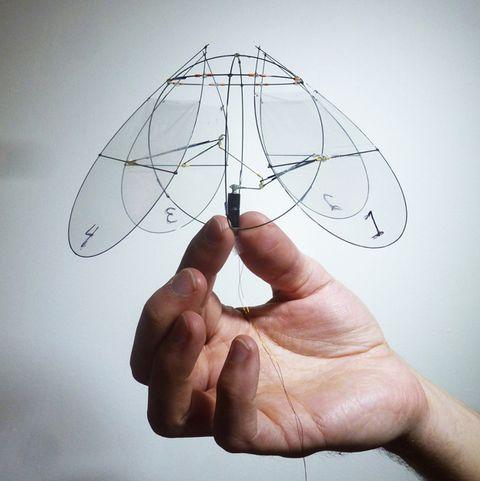 a jellyfish like flying machine
