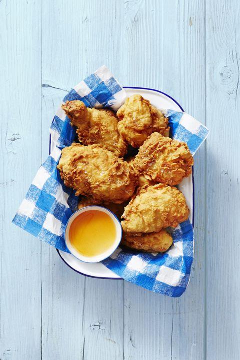basket of fried chicken