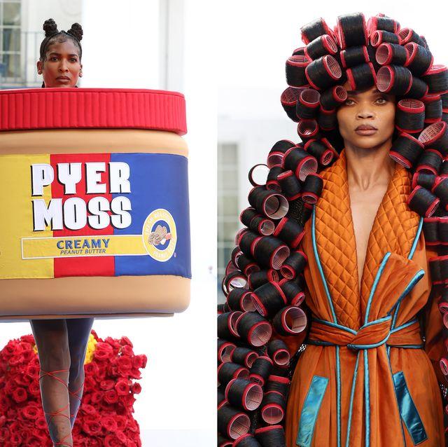 pyer moss 把紅綠燈、髮捲、花生醬變成高級訂製服!史上最失控的時尚秀背後十大故事揭密