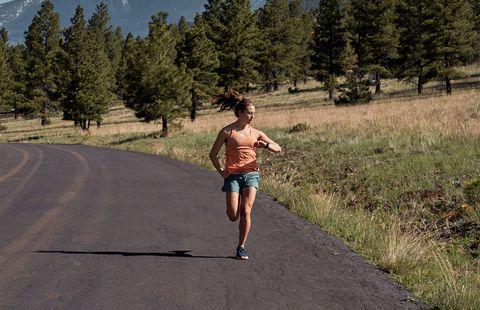 speed workouts marathon training