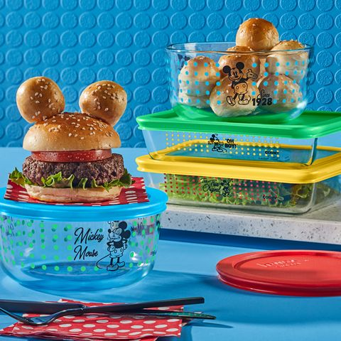 mickey mouse pyrex set