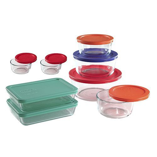 Pyrex Glass Food Storage Containers