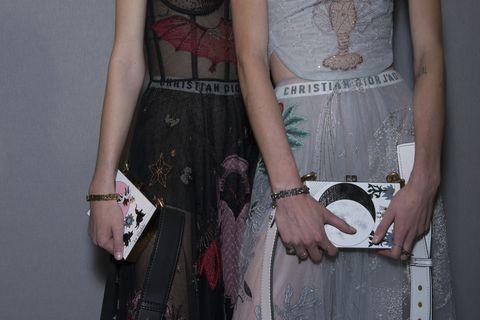 Wrist, Joint, Pattern, Fashion accessory, Sleeveless shirt, Fashion, Waist, Bracelet, Bag, Trunk,
