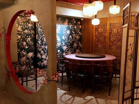 Room, Interior design, Furniture, Table, Architecture, Building, Floor,
