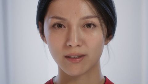 Face, Hair, Eyebrow, Cheek, Chin, Skin, Forehead, Nose, Lip, Facial expression,