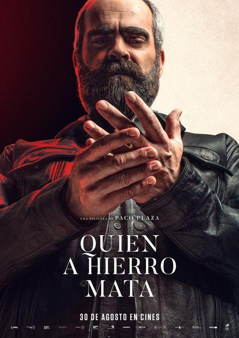 """Luis Tosar en el cartel de """"Quien a hierro mata"""", de Paco Plaza"""