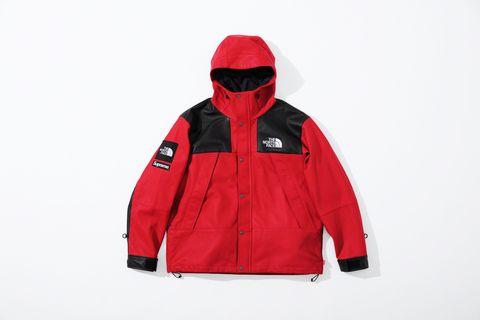 Jacket, Outerwear, Clothing, Hood, Red, Sleeve, Zipper, Polar fleece, Hoodie,