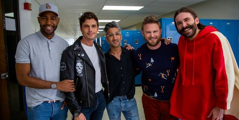 """""""Queer Eye's"""" Fab 5 Talk To High School Students About Being Queer - Queer Eye Cast"""