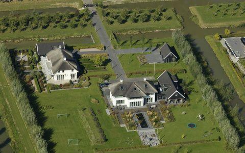 villa op landgoed ambachtsheeren in de gemeente cromstrijen