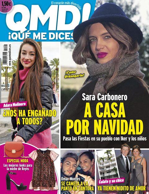 Sara Carbonero, portada de QMD!