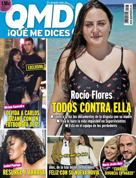 QMD portada 1198Rocío Flores