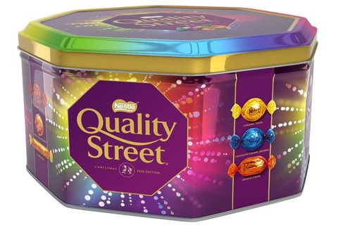 Asda Is Selling Giant Tubs Of Quality Street's New Caramel Brownie Chocolates