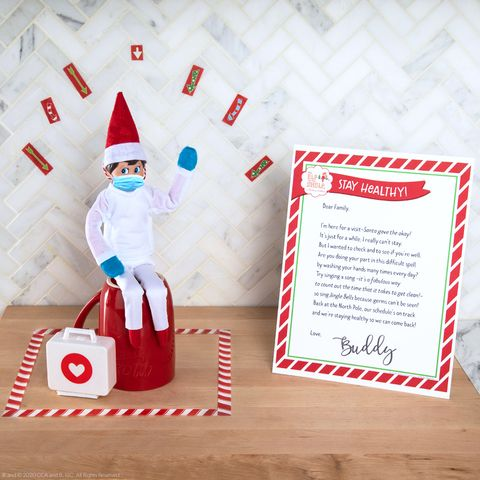 elf on the shelf quarantine